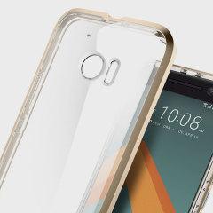 Spigen Neo Hybrid Crystal Case HTC 10 Hülle in Champagne Gold / Klar