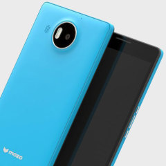 This colourful blue wireless charging back cover with NFC is beautifully crafted with a slim look which offers protection for the Microsoft Lumia 950 XL. Replacing the original back cover.