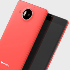 Mozo Microsoft Lumia 950 XL Wireless Charging Back Cover - Coral