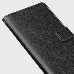 Olixar Huawei P8 Lite Tasche Wallet in Schwarz