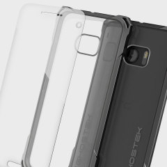 Ghostek Covert HTC 10 Bumper Case Hülle in Klar / Schwarz