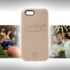 Funda iPhone 5S / 5 LuMee con Flash para Selfies - Oro Rosa