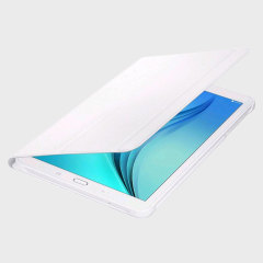 Official Samsung Galaxy Tab E 9.6 Book Cover Case - White