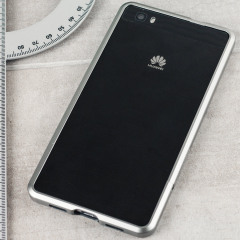 Protect your Huawei P8 Lite with this unique grey aluminium bumper.The bumper protects the outer edges while providing some front and back protection and looking fabulous while doing so. Also matches the colour of your grey P8 handset.
