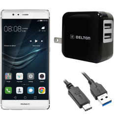 High Power 2.1A Huawei P9 Wall Charger - US Mains