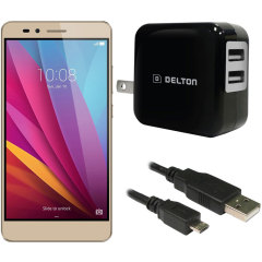 High Power 2.1A Huawei Honor 5X Wall Charger - US Mains