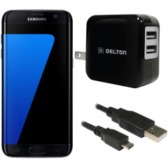 High Power 2.1A Samsung Galaxy S7 Edge Wall Charger - US Mains