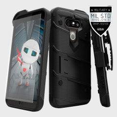 Zizo Bolt Series LG G5 Tough Case & Belt Clip - Black