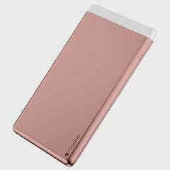 Batterie externe Mophie PowerStation 8X Deux USB – 15000mAh Or rose
