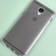 Olixar FlexiShield OnePlus 3 Gel Case - 100% Transparant