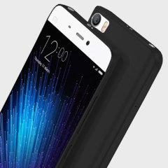 Olixar FlexiShield Xiaomi Mi 5 Gelskal - Solid Svart