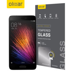 Olixar Xiaomi Mi 5 Tempered Glass Skärmskydd