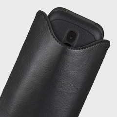 Keep your smaller Doro smartphone protected with this elegant, luxurious pouch. Comes complete with a smart strap for effortless removal of your phone.