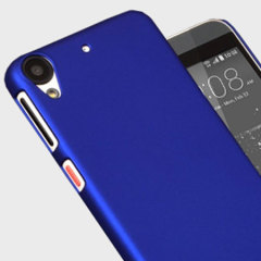 Custom moulded for the HTC Desire 530 / 630, this light rubberised hybrid blue ultra thin case provides slim fitting, durability and protection against damage.
