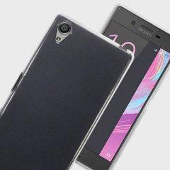 Qubits Sony Xperia X Gel Case Hülle in Klar