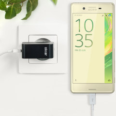 Charge your Sony Xperia X and any other USB device quickly and conveniently with this compatible 2.4A high power micro USB EU charging kit. Featuring an EU wall adapter and micro USB cable.