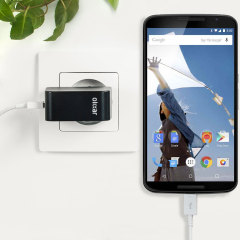 Charge your Google Nexus 6 and any other USB device quickly and conveniently with this compatible 2.4A high power micro USB EU charging kit. Featuring an EU wall adapter and micro USB cable.