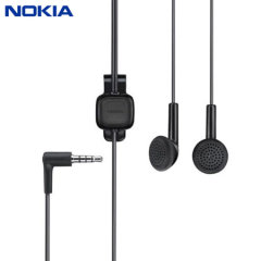 Official Nokia Handsfree Stereo Headset WH-102 - Black