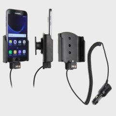 Charge and use your Samsung Galaxy S7 in your vehicle with this Brodit active holder with tilt swivel. Conveniently docking your phone, the Brodit Active Holder allows you to use heavy battery consuming apps while you drive.