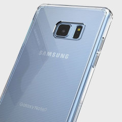 Protect the back and sides of your Samsung Galaxy Note 7 with this incredibly durable, crystal clear backed Fusion Case by Ringke.