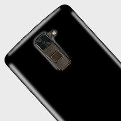 Olixar FlexiShield LG G Stylo 2 Plus Gel Case - Solid Black