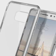 Caseology Skyfall Series Samsung Galaxy Note 7 Hülle Silber / Klar