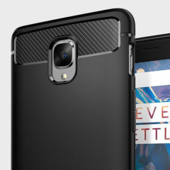 Meet the newly designed rugged case for the OnePlus 3T / 3. Made from a flexible, rugged TPU and featuring a mechanical design, including a carbon fibre texture, the Ultra Rugged capsule in black keeps your phone safe and slim.
