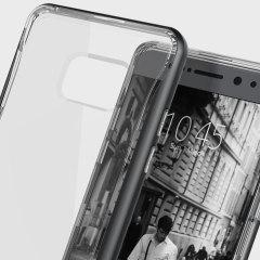 Caseology Skyfall Series Samsung Galaxy Note 7 Hülle Schwarz / Klar