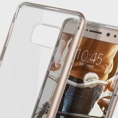 Caseology Skyfall Series Samsung Galaxy Note 7 Hülle Gold / Klar