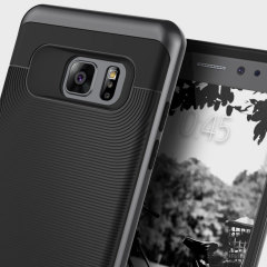 Funda Samsung Galaxy Note 7 Caseology Wavelength Series - Negra