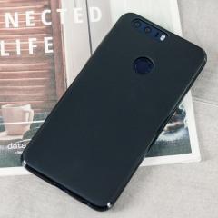 FlexiShield Huawei Honor 8 Gel Hülle in Solid Schwarz