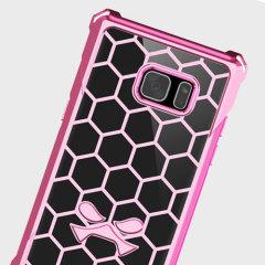 Ghostek Covert Samsung Galaxy Note 7 Bumper Case - Clear / Pink