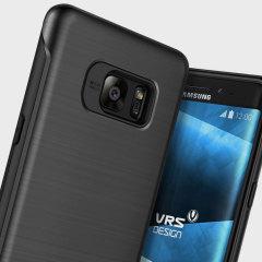 VRS Design Duo Guard Samsung Galaxy Note 7 Case - Dark Silver