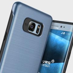 VRS Design Duo Guard Samsung Galaxy Note 7 Case Hülle in Blau Koralle