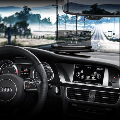 Vehicle Heads-Up Display (HUD) Smartphone Mount System