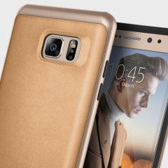 Made from dual layers of rugged TPU and tough polycarbonate with bonded premium textured layers and featuring a stunning leather-style design, the Envoy Series tough case in beige keeps your Samsung Galaxy Note 7 safe, slim and stylish.