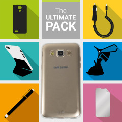 The Ultimate Pack for the Samsung Galaxy J5 2016 consists of fantastic must have accessories designed specifically for the Galaxy J5 2016 including an Olixar Gel case, Screen Protector, phone stand, stylus, car holder and charger.