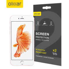 Keep your iPhone 8 / 7 screen in pristine condition with this Olixar scratch-resistant screen protector 2-in-1 pack. Ultra responsive and easy to apply, these screen protectors are the ideal way to keep your display looking brand new.