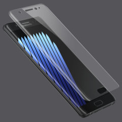 Olixar Samsung Galaxy Note 7 Curved Glass Screen Protector - Clear