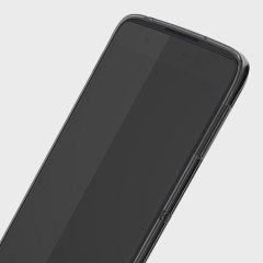 Protect your BlackBerry DTEK50 smartphone with this original translucent black soft shell case.