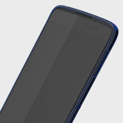 Protect your BlackBerry DTEK50 smartphone with this original translucent blue soft shell case.