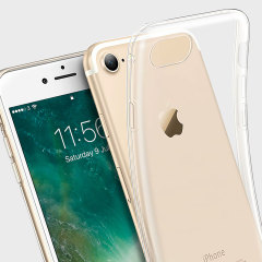 Olixar Ultra-Thin iPhone 8 / 7 Gel Hülle in Kristall Klar