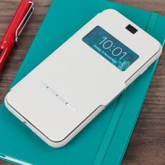 Moshi SenseCover iPhone 7 Plus Smart Case - Stone White