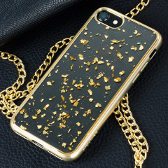 Prodigee Scene Treasure iPhone 7 Hülle in Gold Sparkle