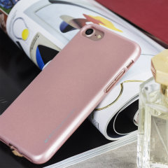 Mercury iJelly iPhone 7 Gel Case - Rose Gold