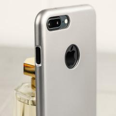 Mercury iJelly iPhone 8 Plus / 7 Plus Gel Case Hülle Silber