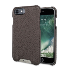 Vaja Grip iPhone 7 Premium Leather Case - Brown / Birch