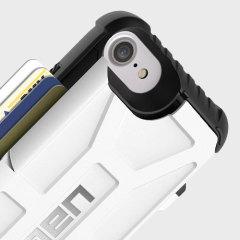 UAG Trooper iPhone 7 Protective Wallet Case Hülle Weiß / Schwarz