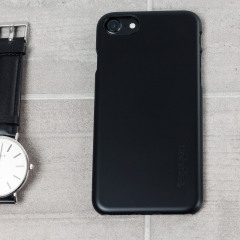 Spigen Thin Fit iPhone 7 Hülle Shell Case in Schwarz
