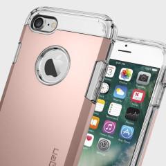 Spigen Tough Armor iPhone 7 Skal - Rosé Guld